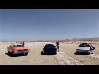 DeLorean vs KITT vs General Lee - Hollywood Cars - Top Gear USA series 2