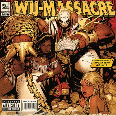 Method Man, Ghostface and Raekwon - Wu-Massacre 3/30/10