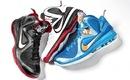 """Избранные расцветки  """"колледжей """" поступят в... Nike LeBron 9."""