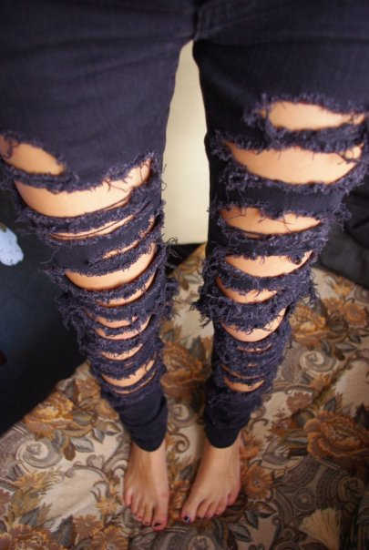 """Похожие статьи на  """"Как сделать джинсы меньше."""