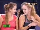 Caroline wozniacki and victoria azarenka -rytmus - technotronic