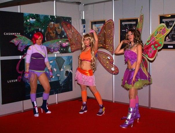 Винкс косплей (Фото волшебниц Winx club)