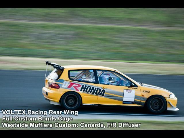 Honda Civic EG6 K24A - John Boston Time Attack Superlap 2010 140.94