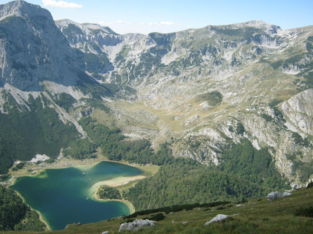 Озеро Трновачко в нац парке Сутьеска