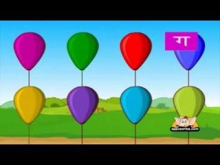 Алфавит Hindi для детей - Vyanjan 1