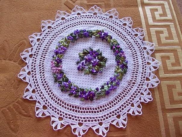 Цветы броши из ткани своими руками