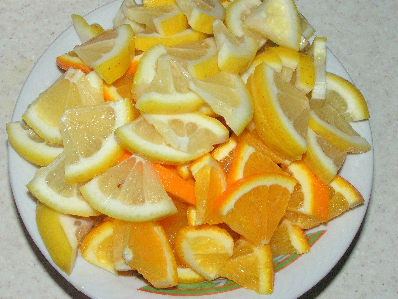 абрикосовое варенье с цитрусовыми