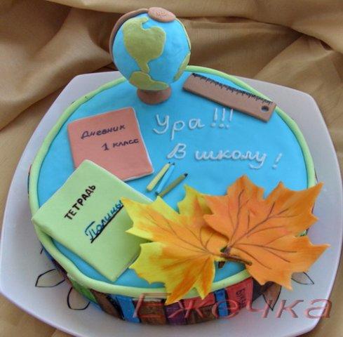 Торт на 1 сентября. Идеи торта на 1 сентября