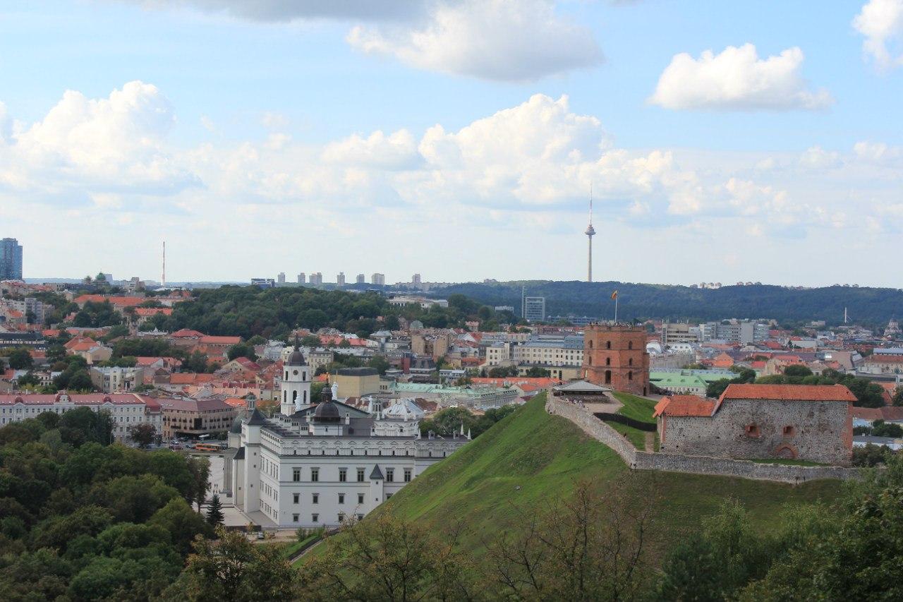 Вильнюс. Башня Гедиминаса