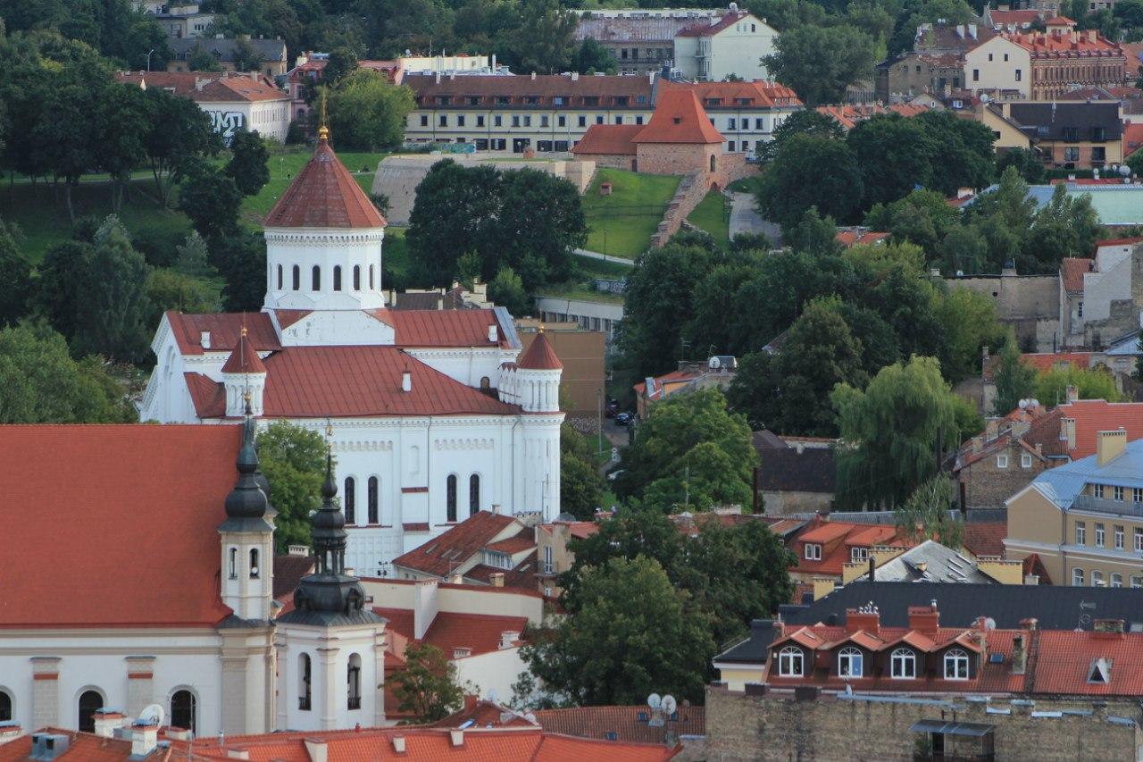 Вильнюс старый город
