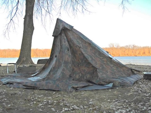 WD 18x18 Camo Tent