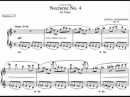 Liebermann, Lowell - Nocturne No. 4 Op. 38 (Video Sheet)