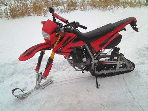 Снегоходы своими руками из мотоцикла