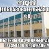 Типичная МОУ СОШ № 6 г. Надым