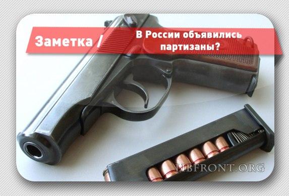 В России объявились партизаны?