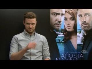 Exclusiva com Justin Timberlake - Pвnico na Band - 15/09/2013[Промотур Ва-Банк, Бразилия]