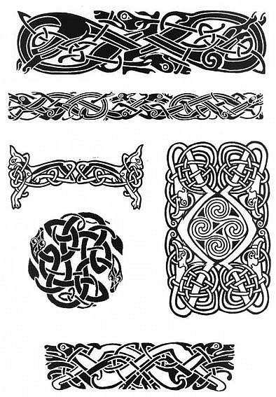 картинки скандинавские узоры