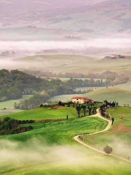 Тоскана, Италия.