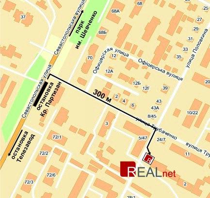 Карта проезда RealNet