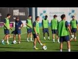 FC Barcelona - Entrenament 13/08/2013