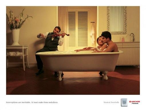 Самые популярные паблики Вконтакте - Музыкальные дверные звонки Panasonic: То, что вас прервут, неизбежно.