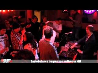 Basto balance du gros son en live - C'Cauet sur NRJ