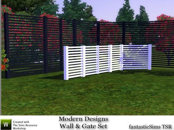 Забор от fantasticSims