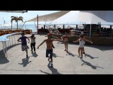 A$AP Rocky feat. Drake - Fuckin' Problem (JAZZER DANCECAMP 2013 feodosia beach club 117)