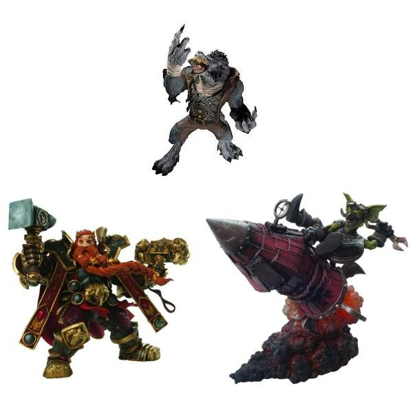 wow action figures