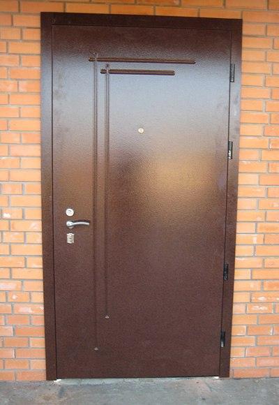 установка железной двери за сколько