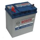 """Автомобильный аккумулятор Bosch S4 Silver (0092S40190) 40 Ач  """"+ """" слева для азиатских автомобилей."""