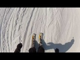 Andermatt 16 Marzo 2013 - HEAD Salamander skiboard - GoPro 2 HD