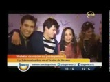Violetta : Entrevista a Jorge, Diego, Tini y Mechi - Teledoce Uruguay