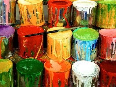WISHLIST.RU акриловые краски разных цветов.