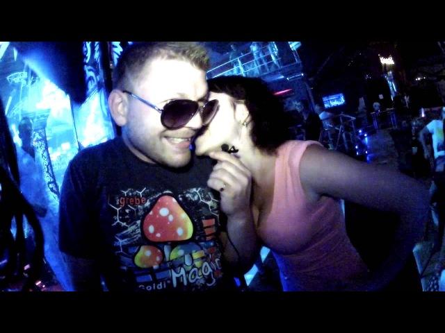 T Dj Aurika Dj Fosage в ночном клубе GURMAN Судак 2013