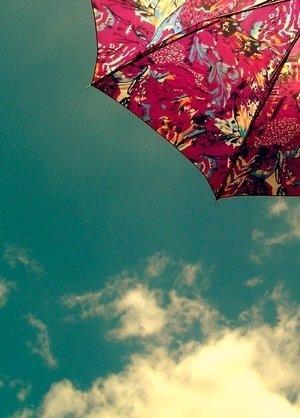 Старый зонт.