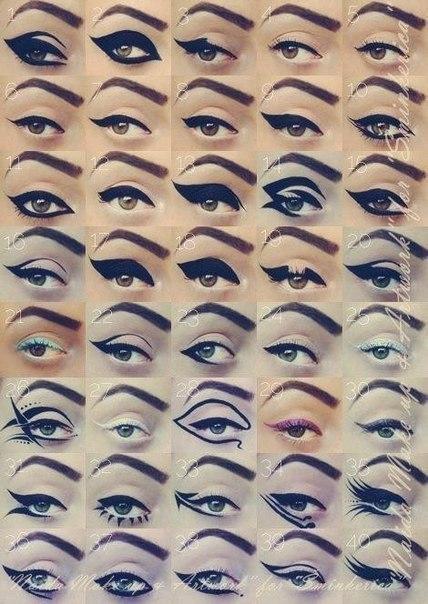 Make up мастер-класс: основы макияжа. Стрелки   ВКонтакте
