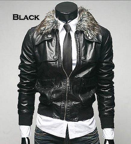 Фотографии Куртка кожаная мужская.