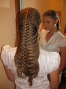 Секреты ухода, Колосок из хвоста - Косы плетения - Красивые волосы.
