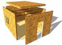 Комплекты домов из сип панелей для самостоятельной сборки.  Отправить запрос.  Все предложения (4). Обратный звонок.