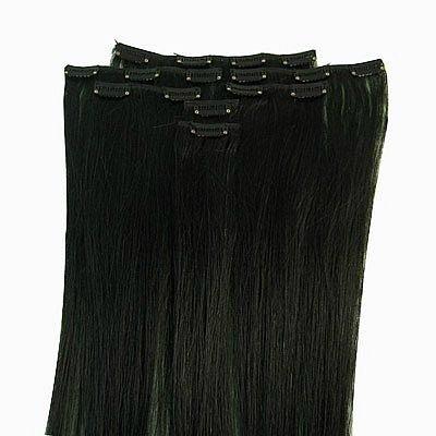продам волосы на заколках.  Чёрные (1) 75 см(при росте 170 по бёдра...