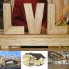 Конструкции и проекты из клееного бруса лвл