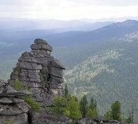 """Скалы-останцы  """"Каменный городок """" Уникальным местом в природном парке является памятник природы  """"Каменный городок """"..."""