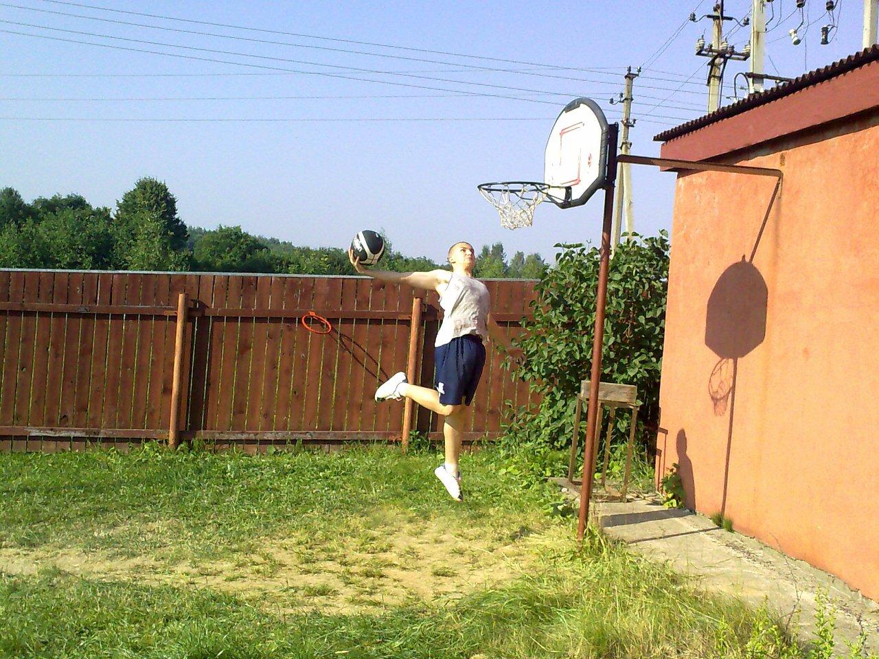 Как сделать баскетбольную площадку