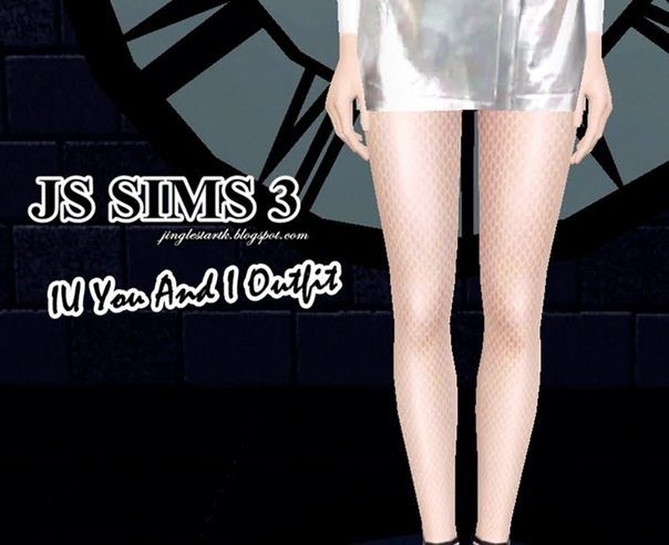 IU You And I Outfit Set by JS Sims3