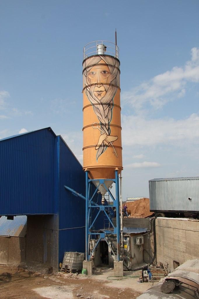 фото пикалево бетонный узел силос для цемента