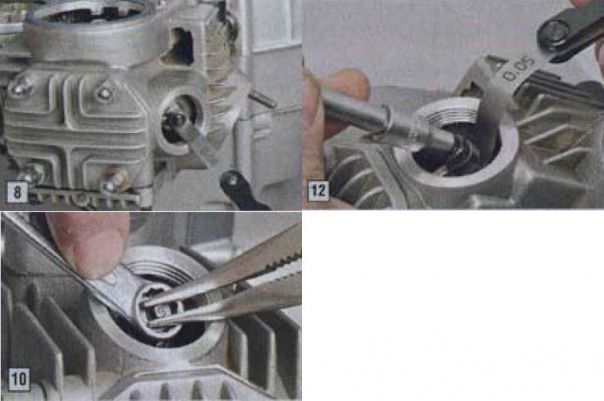 Регулировка клапанных зазоров двигателей питбайков