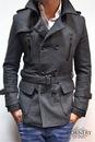 Продаю, мужское пальто в отличном ... заменитель, цвет тёмно .