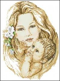 схемы вышивки крестом маме.