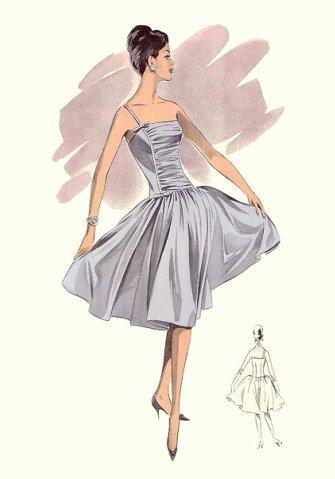 Платье в стиле Стиляг (платье 50-х годов.